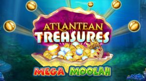 Atlantean Treasures Mega Moolah gokkast Microgaming