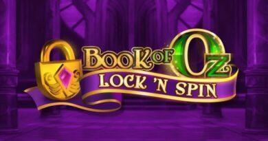 Book of Oz Lock N Spin gokkast