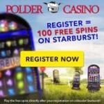 100 Free spins bij Polder Casino!