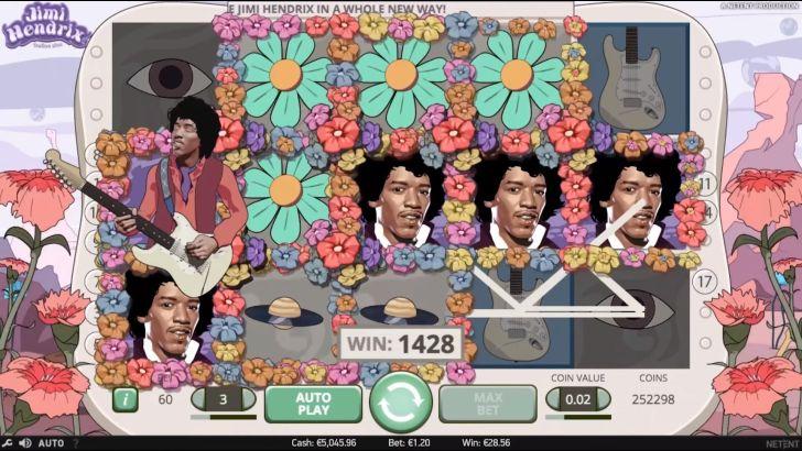 Jimi Hendrix gokkast