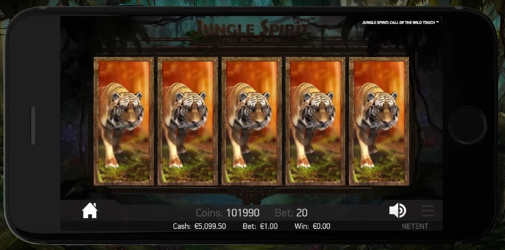 jungle spirit mobiel
