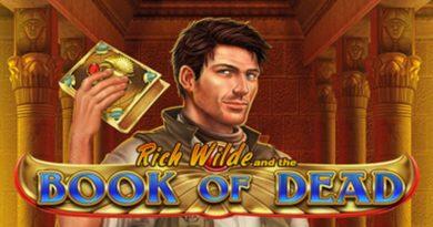 book of dead gokkast