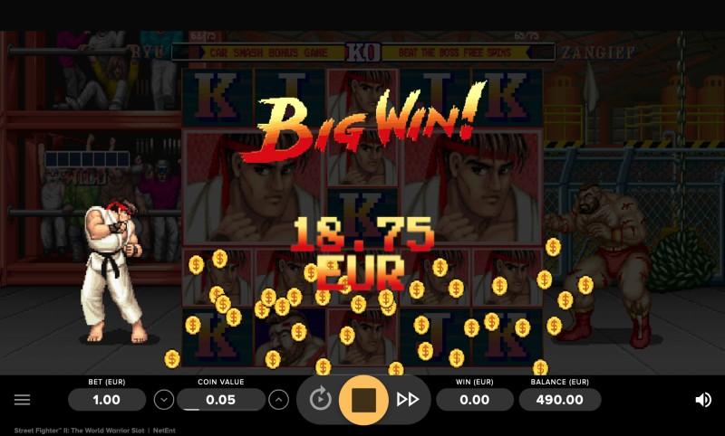 Streetfighter 2 gokkast Big Win