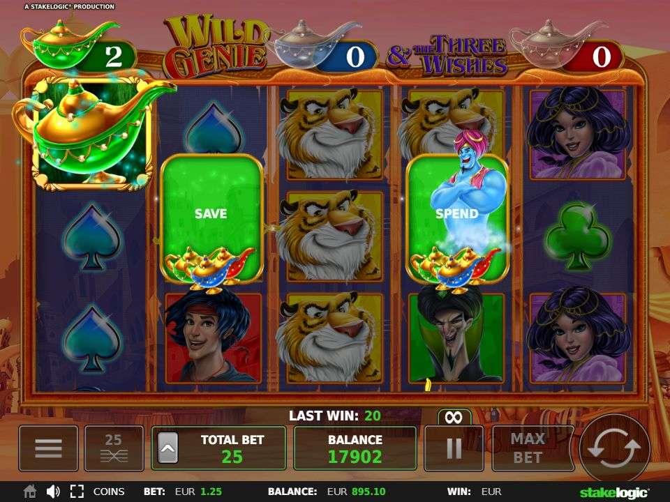 Wild Genie spend