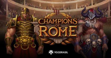Champions of Rome gokkast Yggdrasil