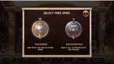 Free spins Champions of Rome