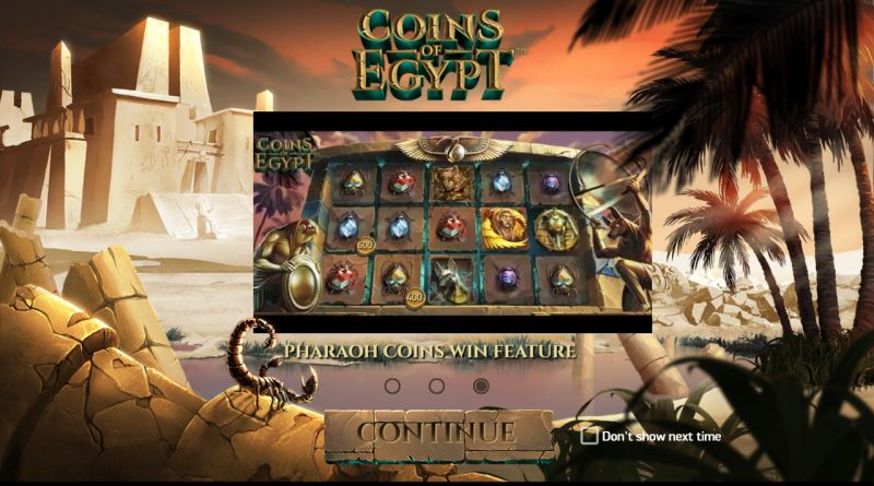 Coins of Egypt NetEnt