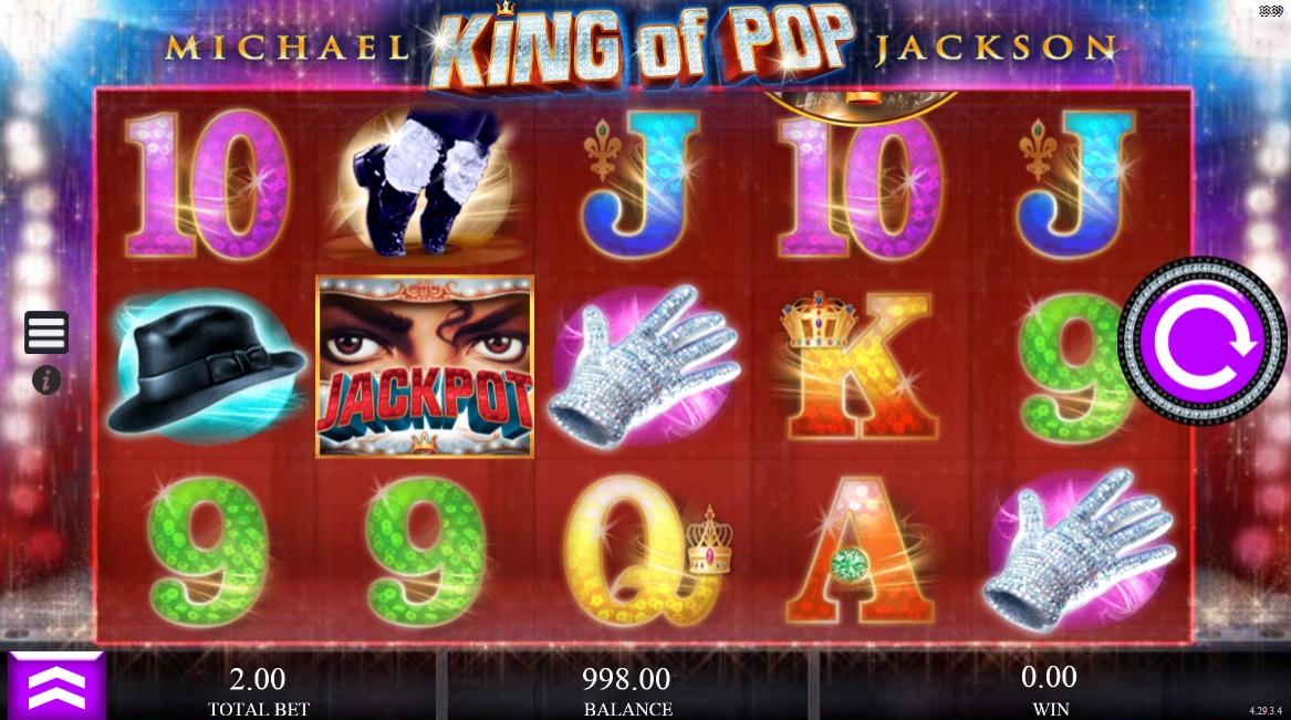micheal jackson king of pop gokkast