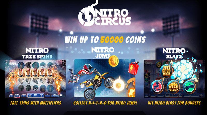Nitro Circus gokkast