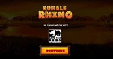 Rumble Rhino gokkast Pariplay