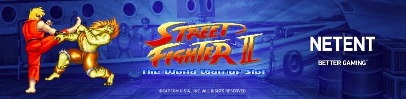 Street Fighter 2: The World Warrior slot NetEnt
