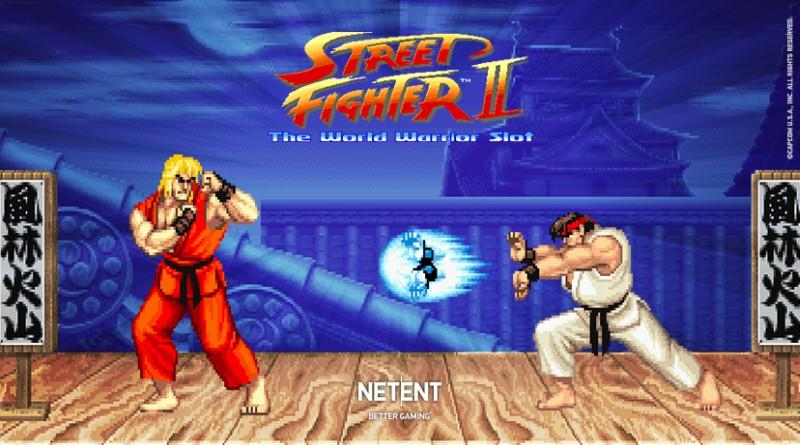 Street Fighter 2 gokkast NetEnt