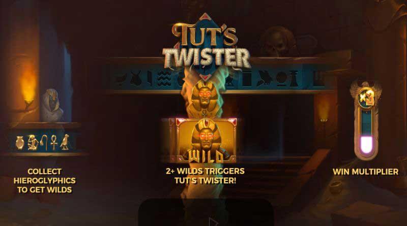 Tut's Twister gokkast