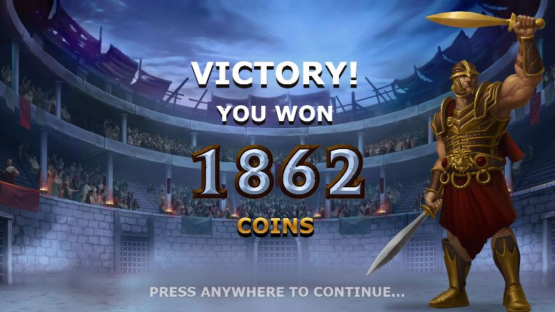 Champions of Rome victory
